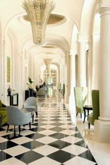 Trianon Tea Hallway