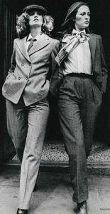 Mens Look for Women in the Seventies
