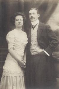 Pitou's grandparents, Julia and Jules Rols de Rop