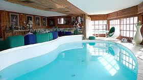 pool at the Chalet Helora in Verbier, Gerard Bonnet