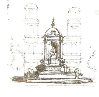 Saint Sulpice, antique