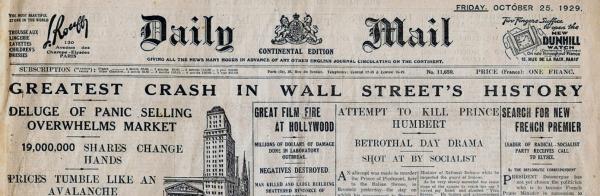 stock-market-crash-of-1929-newspaper-Headline