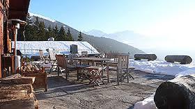 Terrace, Chalet Helora, Gerard Bonnet