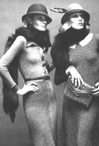 thirties look of the seventies