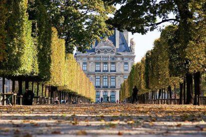 Tuileries, fall