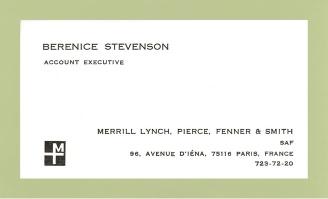 Berenice Stevenson