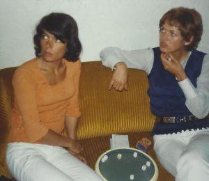 Daniele Gegauff with Marianne Haas
