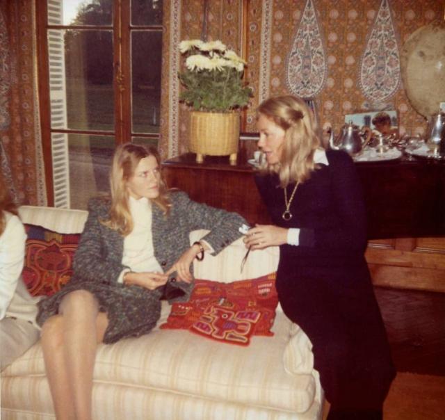 Berenice Stevenson de la Salle with Joan Kennedy