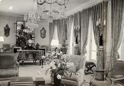 14 ure Francois 1er, apartment of Gerard Mille