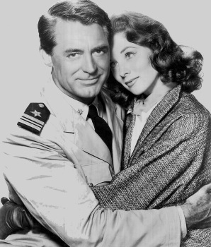 Cary Grant with Suzy Parker