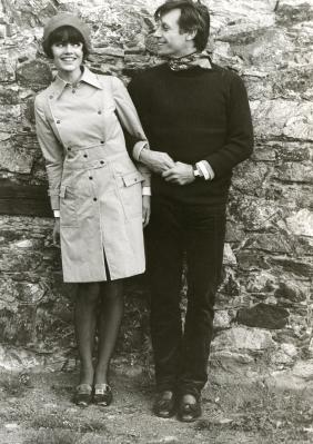 Brigitte Bardot with Pierre Pitou de la Salle