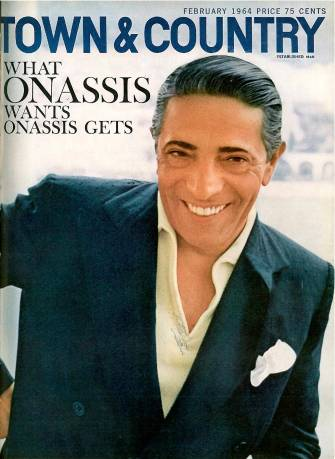 Town and Country, Onassis