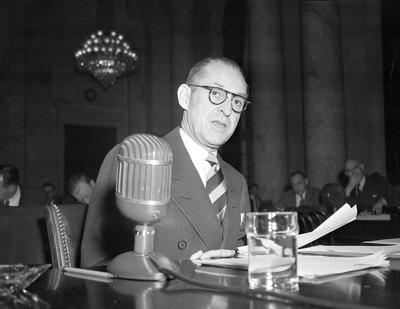 Eccles, before Congress
