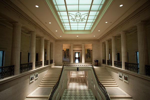 Fed Reserve interior