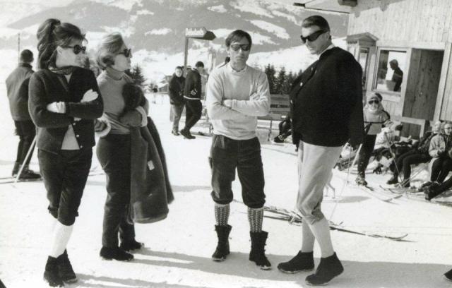 Pitou with Hubert, Megeve